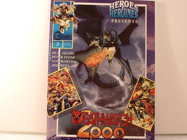 Heroes and Heroines Deathwatch 2000 Superhero RPG New OOP K4