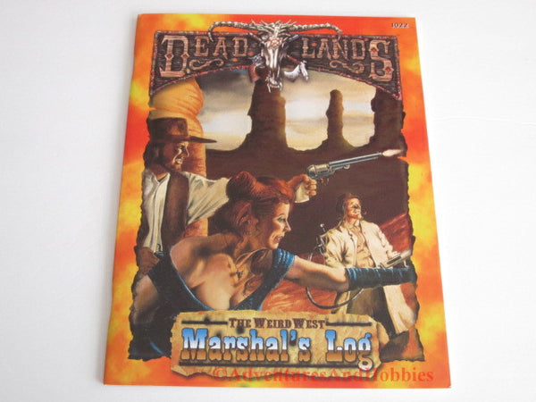 Deadlands The Weird West Marshal's Log Pinnacle 1022 1999