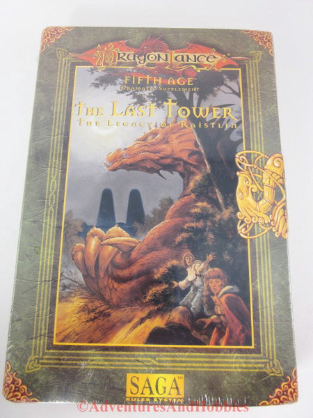 DragonLance Saga Fifth Age The Last Tower Box Set TSR 1149 D&D DQ