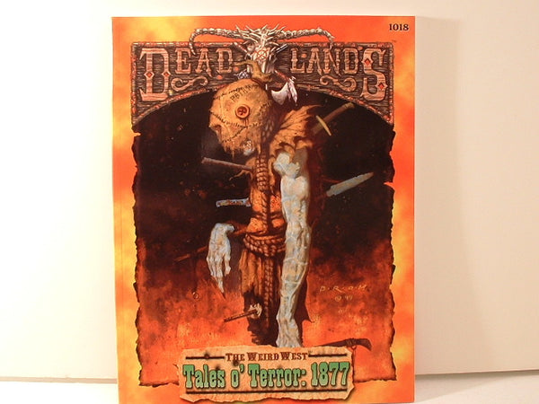 Deadlands Tales o' Terror 1877 Weird West New NM/Mint JB Horror