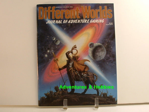 Different Worlds #43 1986 D&D Blackmoor Call of Cthulhu OOP C8