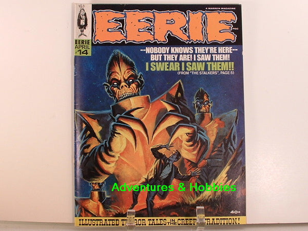 Eerie #14 Warren 1967 Sci Fi Horror Monster Magazine A8
