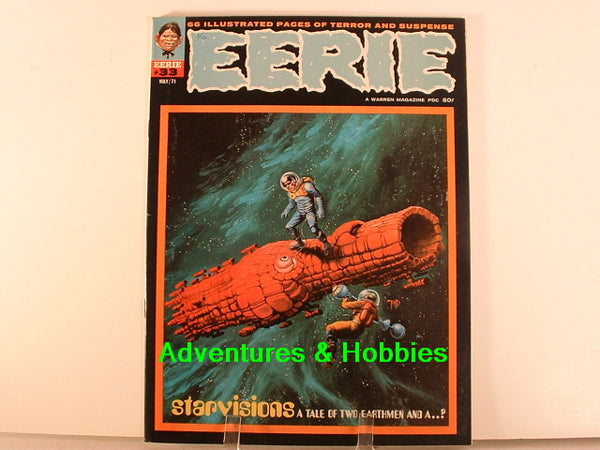 Eerie #33 Warren 1971 Sci Fi Horror Monster Comic Magazine K7