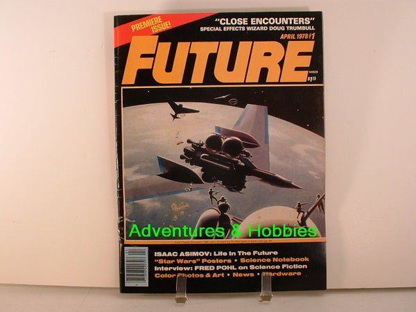 Future #1 Premiere 1978 Sci Fi Pohl Star Wars King Kong Magazine L7