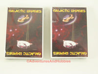 Galactic Empires Starter Decks x2 Alpha Edition 1994 Trading Card Game Sealed