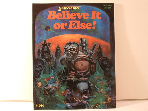 Gatecrasher Adventure Believe It or Else Fantasy RPG New OOP DC