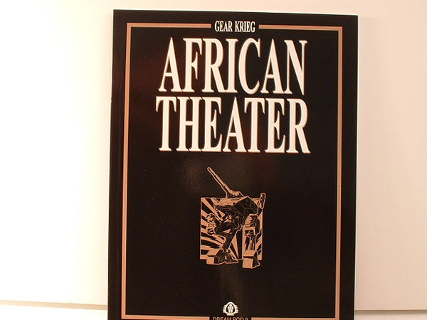 Gear Krieg African Theater Book NM/Mint New DP9 CB Science Fiction