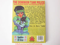 Dominion Tank Police Anime RPG and Resource Book Guardians of Order 04001 1999 CTt-S