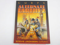 GURPS Alternate Earths 2 Time Travel Sourcebook Steve Jackson Games 1999 fo