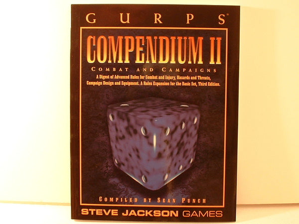 GURPS Compendium II 3rd Ed Rules Expansion New OOP J5