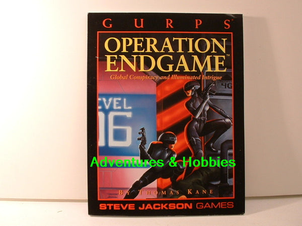 GURPS Operation Endgame 1993 Steve Jackson Games New OOP A7