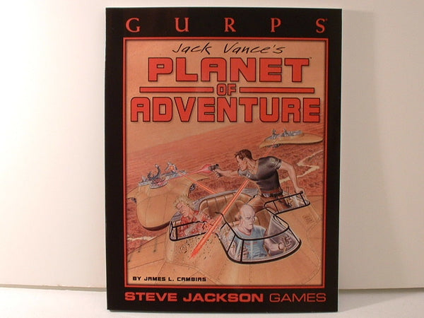 GURPS Planet of Adventure Jack Vance RPG  New J5 Steve Jackson Games