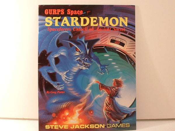 GURPS Space Stardemon Adventure New OOP KB Steve Jackson Games