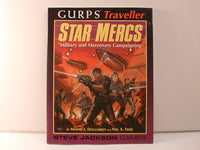 GURPS Traveller Star Mercs Military Sourcebook I6 Steve Jackson Games