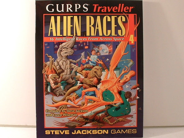GURPS Traveller Alien Races Vol 4 New E6 Steve Jackson Games