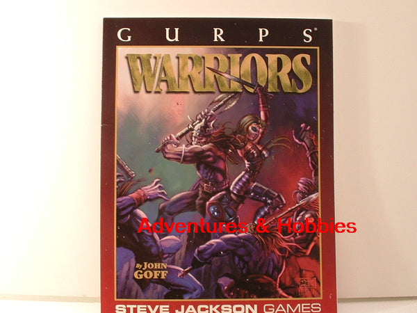 GURPS Warriors Sourcebook Steve Jackson Games New H6 RPG Fighters