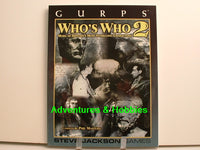 GURPS Who's Who #2 Sourcebook Steve Jackson New H7