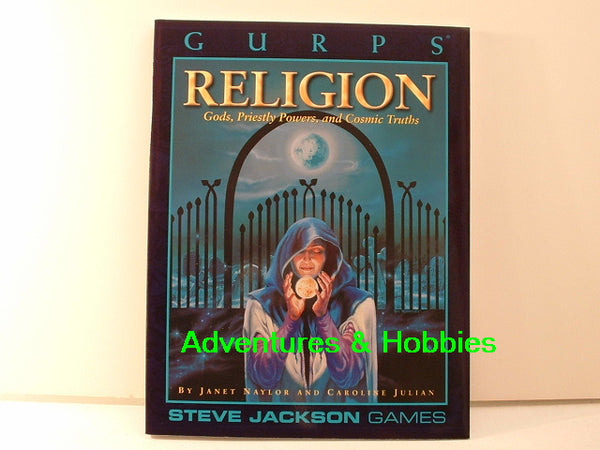 GURPS Religion Sourcebook New Steve Jackson Games I6