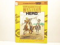 Western Hero Sourcebook Hero Games ICE 504 1st Printing 1991 ATt-S