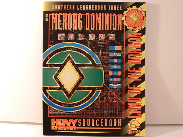 Heavy Gear RPG Mekong Dominion Leaguebook New BC Dream Pod 9