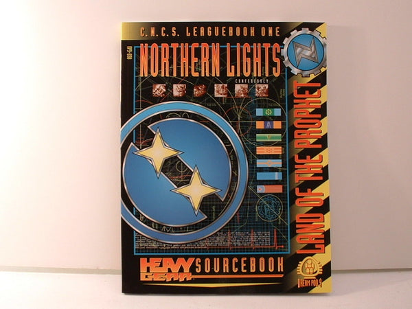 Heavy Gear RPG Northern Lights Confederacy Sourcebook GC Dream Pod 9