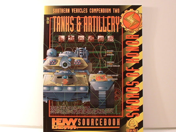 Heavy Gear Southern Tanks & Artillery Comp 2 Dream Pod 9 AB