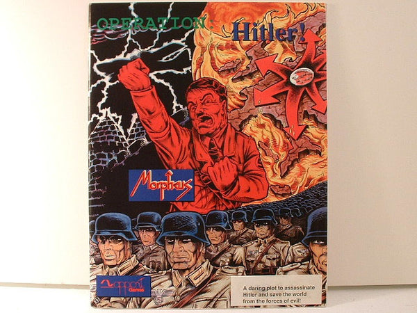 Operation Hitler Morpheus Time Travel RPG Adventure OOP GB