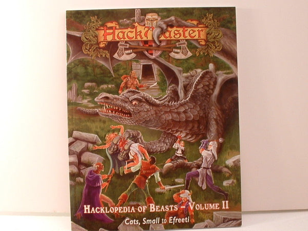 HackMaster Hacklopedia of Beasts Volume II Monster Sourcebook New F6