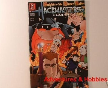 KODT Hackmasters of Everknight #1 Kenzer Comic New FC