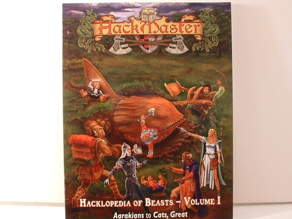 HackMaster Hacklopedia of Beasts Vol I Fantasy RPG New Kenzer AC