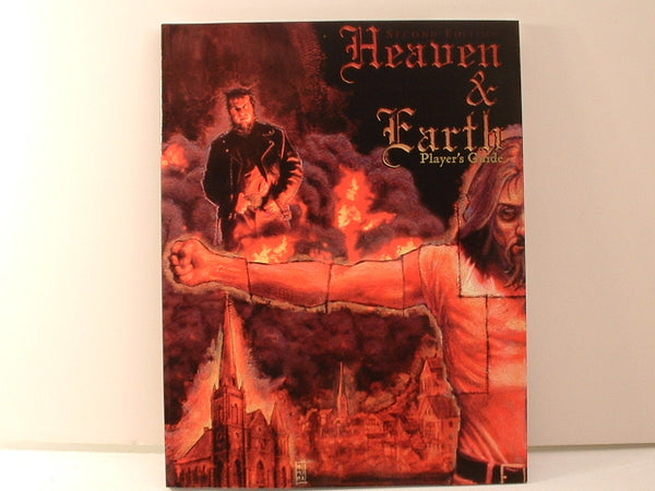 Heaven and Earth Player's Guide New FC Guardians of Order Horror RPG
