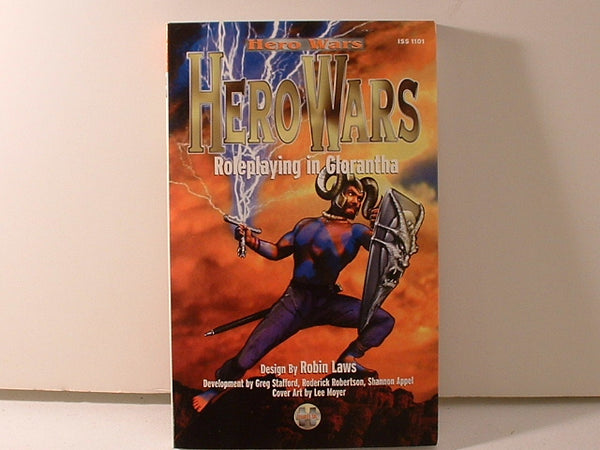 Hero Wars Roleplaying in Glorantha Core Rules Issaries New J5