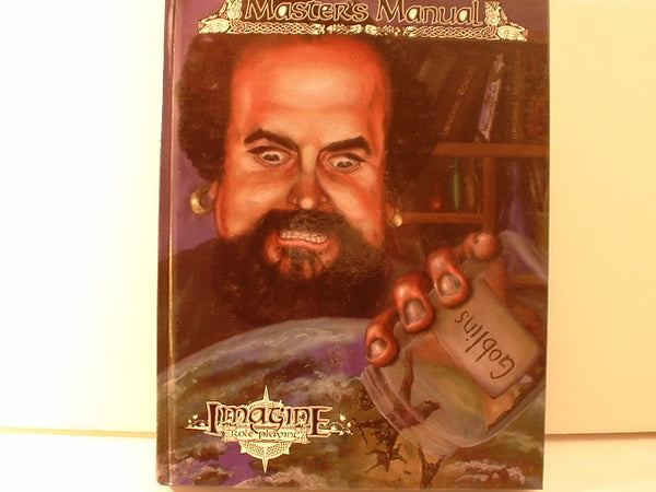 Imagine Master's Manual Fantasy RPG Hardcover New OOP K5