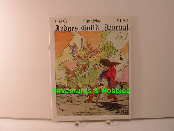 Judges Guild Journal #14 1979 Fantasy D&D BD