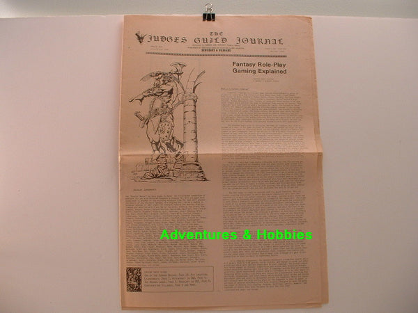 Judges Guild Journal #7 P 1978 Fantasy RPG Gaming D&D E8