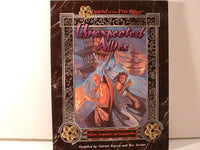 L5R Legends Five Rings Unexpected Allies NPC Sourcebook New I5