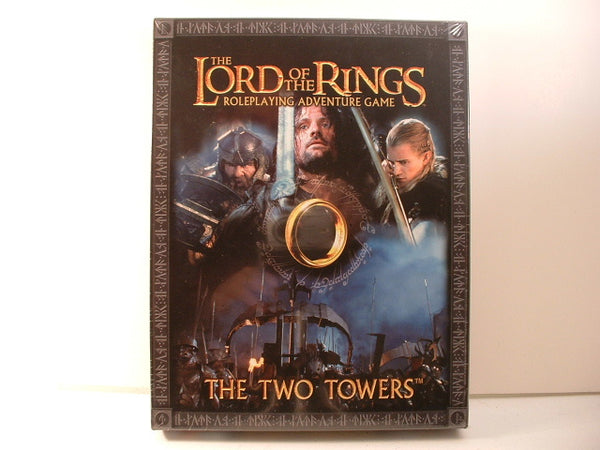 Lord of the Rings RPG Two Towers Box Set Tolkien NM/Mint A5