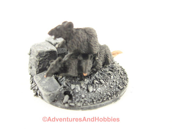 Fantasy Miniature D&D Dungeon Rat Swarm M147 Reaper Painted