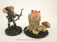 Fantasy Miniature Monster Giant Puffball Fungi M149 Cthulhu D&D Painted