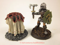 Fantasy Miniature Dungeon Shrieker Fungi Monster M155 Cthulhu D&D Painted