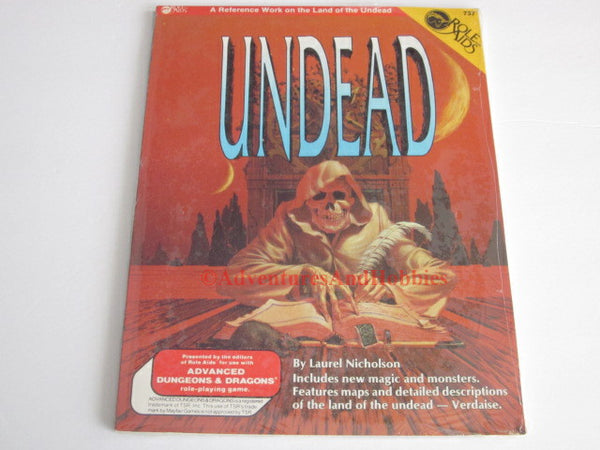 Mayfair Games Role Aids Undead Fantasy Supplement and Adventure 737