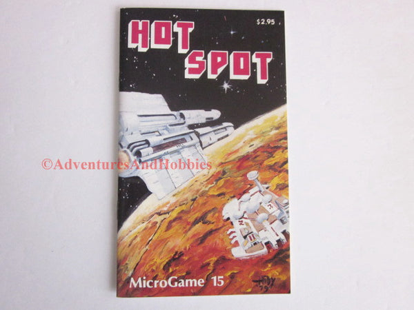 Hot Spot Microgame 15 Metagaming 1979 Tactical Science Fiction Game