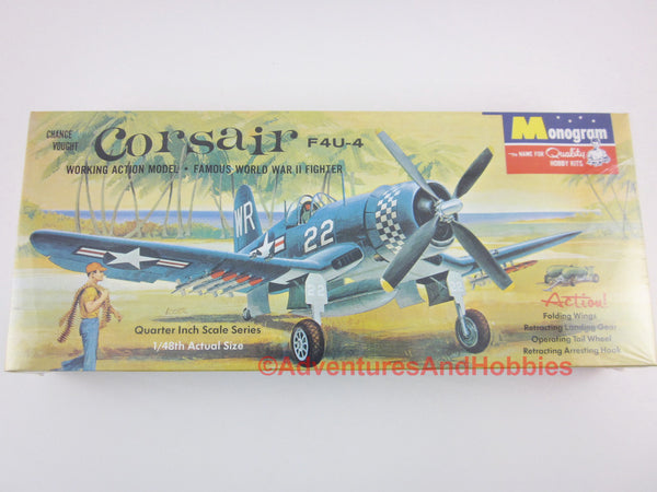 1/48 Corsair F4U-4 WWII US Navy Marine Fighter Kit Monogram PA82 Sealed CP