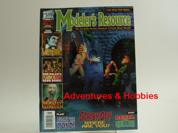 Modeler's Resource #39 Scooby-Doo Maximus ImHoTep K8 Kit Bash