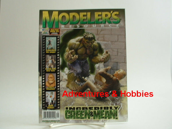 Modeler's Resource #53 Magazine Hulk Night Stalker King Kong K8