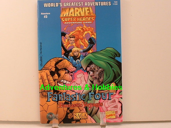 Marvel Super Heroes RPG Fantastic Four Voyages New TSR OOP C7