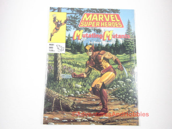 Marvel Super Heroes Mutating Mutants Sealed Shrinkwrap MLBA1 TSR 6893 1990 KTfD