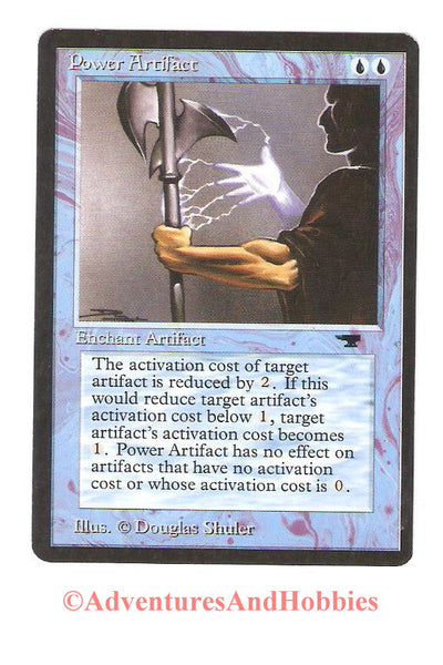 Magic the Gathering MTG Power Artifact Antiquities Light Play CCG 164 ER-H