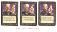 Magic the Gathering MTG Priest of Yawgmoth Antiquities Lot x3 Light Play CCG 219DU