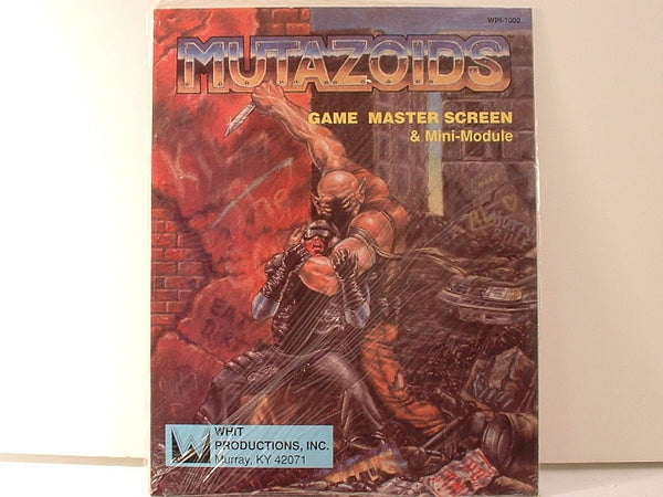 Mutazoids Game Master Screen and Mini-Module OOP New EB